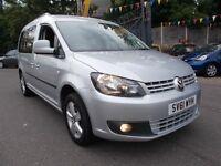 Volkswagen Caddy Maxi 1.6 TDI C20 Life Bus DSG 5dr (7 Seats) GREAT VALUE 11/61