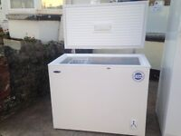 CHEST FREEZER AS NEW £125.00.