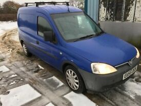 2005 55 VAUXHALL COMBO 1.3 CDTI Blue (115,000 miles) ** Air con ** Side loading New mot! High spec!