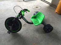 Boys road hog go cart