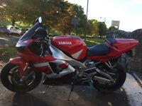 Yamaha R1 in great condition.