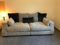 Ex Archibalds Aberdeen 4 seater sofa with cushions