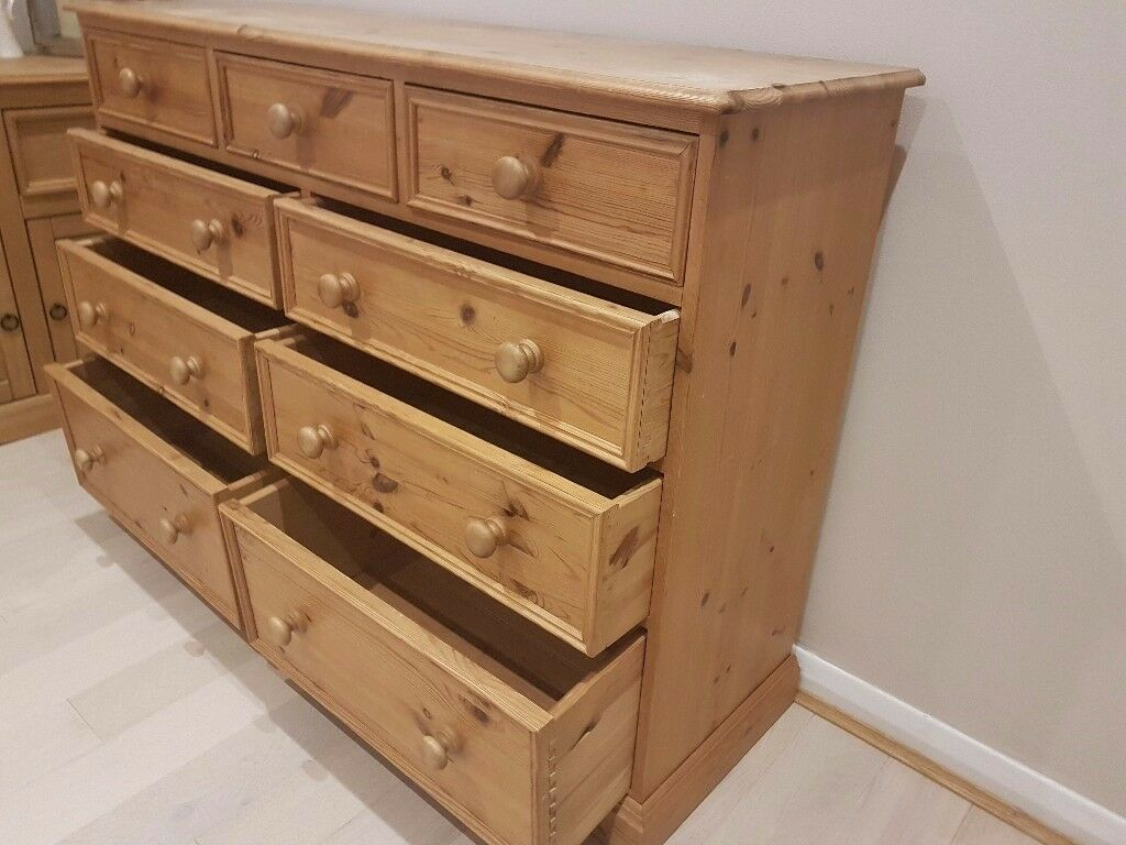 Delightful 9 drawer chest