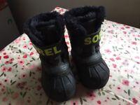 Sorel Snowboots Size 4 (EUR 22)