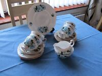 (1960's) 21 piece QUEEN ANNE CHINA TEA SET