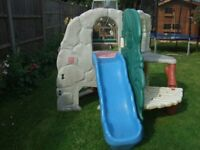 Little Tikes Jungle Climber - Used / Second Hand Climbing Frame and Slide