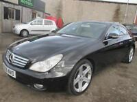 MERCEDES-BENZ CLS CLS320 CDI 4dr Tip Auto (black) 2006