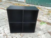 cubic unit / storage / black unit / small bookshelf