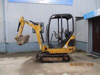 CAT Mini Digger 2012 £7,000 + Vat