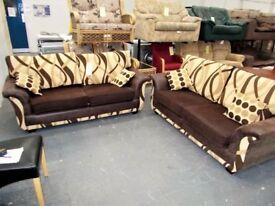 2 x 3 Seater Sofas Suite 30141