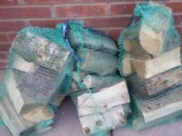 Nets of logs ideal for small and medium log burners