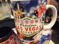 Penn & Teller Signed Programmes / Vegas Mugs / Aladdin Welcome Book - Vegas Memorabilia !!!