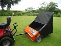 "Agri-Fab Smart-Sweep 44"" Towed Lawn & Leaf Sweeper"