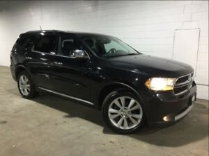 2012 Dodge Durango CREW PLUS! AWD! SUNROOF! NAV! ONE OWNER!