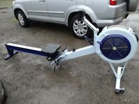 Concept 2 rowing machine with working pm3