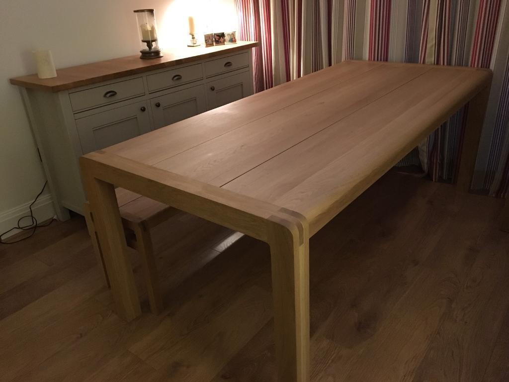 Oak Dining Table 8 Seater Habitat Radius