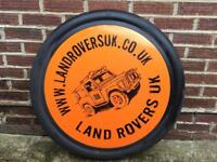 Land Rover spare wheel cover