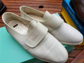 Marks and Spencer wide fit shoe,