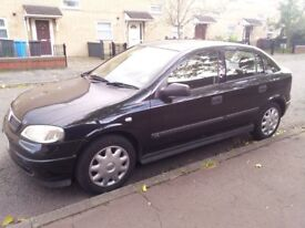 Vauxhall Astra 1.7 DTI Diesel Hatchback 5 Door Black