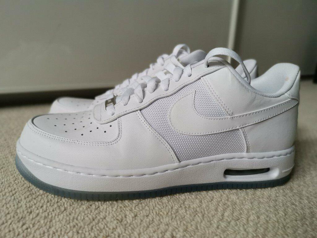 *Nike Air Force 1 Low White UK 10 Genuine Wore Once* £40! | in Milton  Keynes, Buckinghamshire | Gumtree