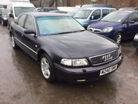 AUDI A8 QUATRO FULL LEATHER INTERIOR AWESOME SOUNDING DRIVING AUTOMATIC CAR FULLY LOADED ANYTRIAL