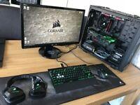 Corsair Top End Gaming PC - Asus Strix 1080Ti - I7-4790k - 16GB RAM - 2x SSD