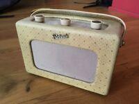 Rare 1950's Roberts RT1 'Champagne' - Transistor Radio -