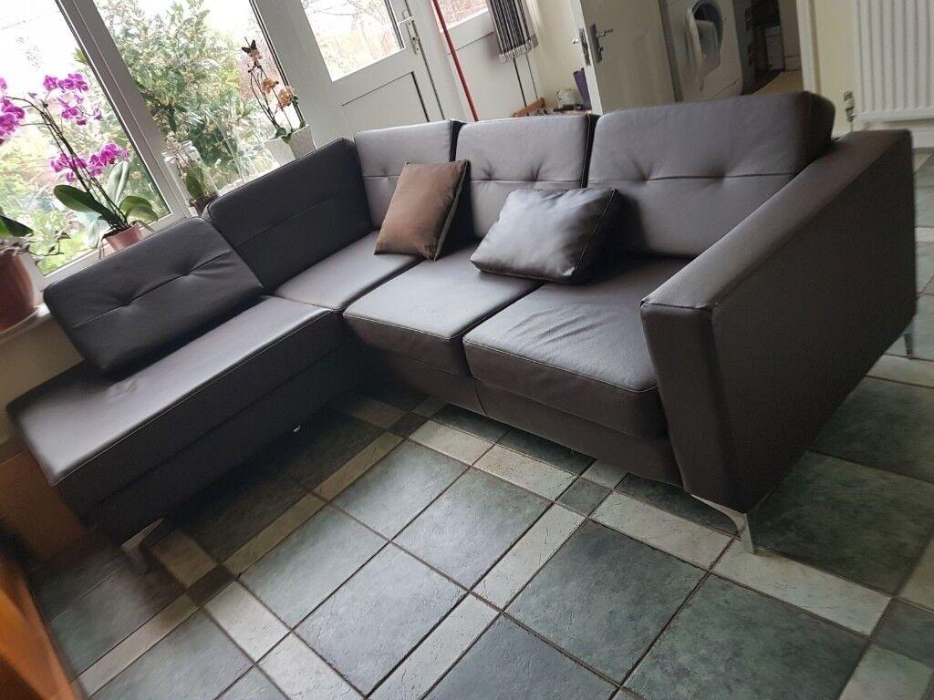 Argos Homebase Brooklyn Left Hand Corner Sofa In Ilford