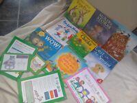 Children's book bundle Most NEW Ten Cheepy Chirpy Chicks Five Little Monkeys + Free Bookstart Bundle
