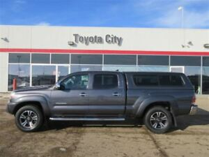 2015 TOYOTA TACOMA LTD  4WD DBL CAB V6 WITH LEATHER