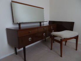 Schreiber dressing table and stool £35