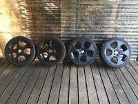 Alloys Monza Pcd 110 but say 112 TODAY £100 first to collect