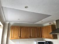 Required ARTEX decorator for repaired ceiling