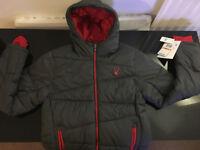 Brand New - SPYDER Ski/Winter Jacket - Size S - Grey - RRP $199.99