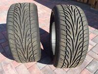 """17"""" Dunlop Sport 9000 tyres 235/40 ZR 17 part worn - 6mm plus"""