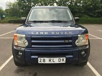 LHD LEFT HAND DRIVE LAND ROVER DISCOVERY 3 TDV6 HSE BLUE 2005 FULLY LOADED 7 SEATER AUTOMATIC