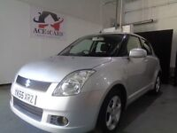 SUZUKI VVTS GLX CHEAP TO INSURE SILVER 1.5 PETROL 5 DOOR HATCHBACK 2005