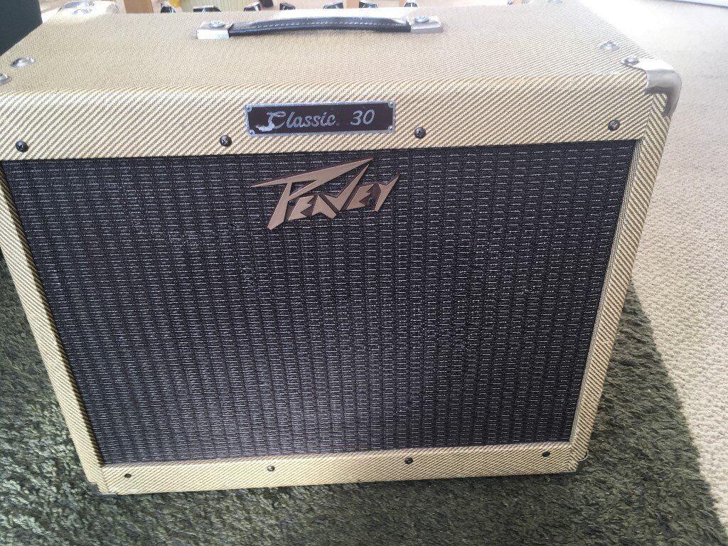 Peavey Classic 30 Tweed Guitar Valve Amplifier