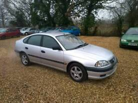 2002 Toyota Avensis Vermont 1.8 5 Months MOT 2 Former Keepers 3 Keys