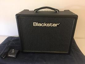 Blackstar 5R Guitar tube amplifier and pedal