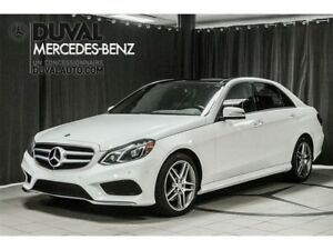 2016 Mercedes-Benz E-Class E400 4MATIC V6 BITURBO CAMERA TOIT PA