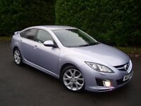 MAZDA 6 2.2 D SPORT 185 BHP , ONLY 59K , BOSE , XENONS ,BLUETOOTH , FULLY LOADED