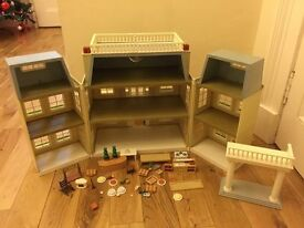 Sylvanian Families Marion House and Marquee plus Accessories