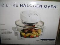 Halogen Oven. 12ltr, 13 Watts.