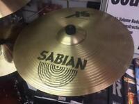 "Sabian XS20 Medium Thin 14"" Crash and 16"" Crash Cymbals"