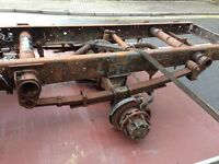 MITSUBISHI CANTER/FUSO AXELS 3C13. 4M42 UNIT. IDEAL EXPORT OR UK USE.