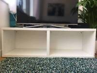 Ikea Matte White TV Stand
