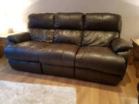 Sterling Carlo leather 3 + 2 sofa