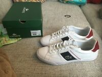 Brand new men's Lacoste trainers 8.5