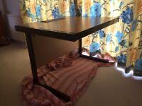 Desk 100cm wide x 80cm deep x72cm high